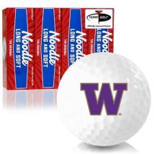 Taylor Made Noodle Long and Soft Washington Huskies Golf Balls