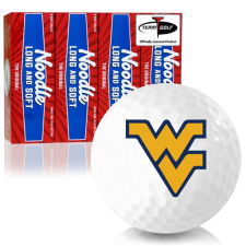 Taylor Made Noodle Long and Soft West Virginia Mountaineers Golf Balls