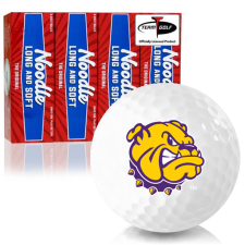 Taylor Made Noodle Long and Soft Western Illinois Leathernecks Golf Balls