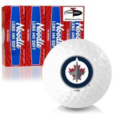 Taylor Made Noodle Long and Soft Winnipeg Jets Golf Balls