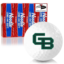 Taylor Made Noodle Long and Soft Wisconsin Green Bay Phoenix Golf Balls