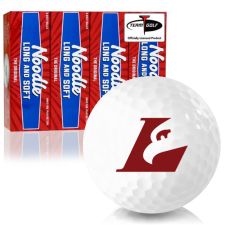 Taylor Made Noodle Long and Soft Wisconsin La Crosse Eagles Golf Balls