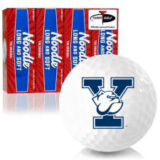 Taylor Made Noodle Long and Soft Yale Bulldogs Golf Balls