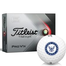 Titleist 2021 Pro V1x AIM US Navy Golf Balls