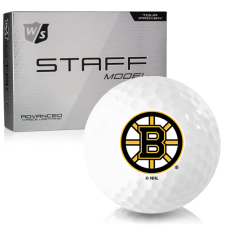 Wilson Staff Staff Model Boston Bruins Golf Balls