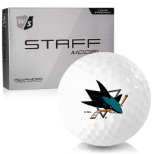 Wilson Staff Staff Model San Jose Sharks Golf Balls
