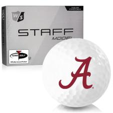 Wilson Staff Staff Model Alabama Crimson Tide Golf Balls