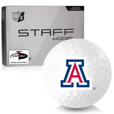 Wilson Staff Staff Model Arizona Wildcats Golf Balls