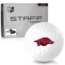 Wilson Staff Staff Model Arkansas Razorbacks Golf Balls