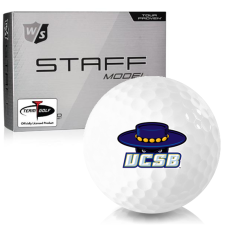 Wilson Staff Staff Model Cal Santa Barbara Gauchos Golf Balls