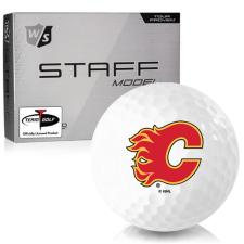 Wilson Staff Staff Model Calgary Flames Golf Balls