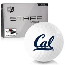 Wilson Staff Staff Model California Golden Bears Golf Balls