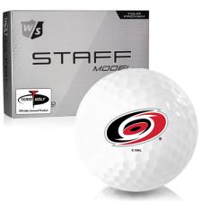 Wilson Staff Staff Model Carolina Hurricanes Golf Balls