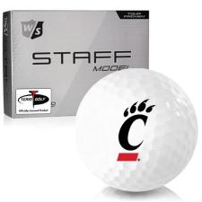 Wilson Staff Staff Model Cincinnati Bearcats Golf Balls