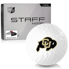 Wilson Staff Staff Model Colorado Buffaloes Golf Balls