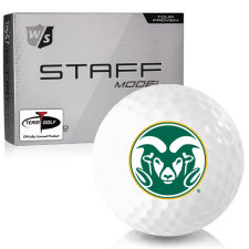 Wilson Staff Staff Model Colorado State Rams Golf Balls