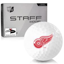 Wilson Staff Staff Model Detroit Red Wings Golf Balls