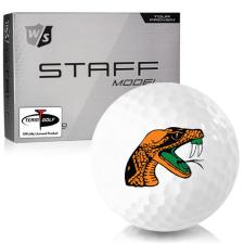 Wilson Staff Staff Model Florida A&M Rattlers Golf Balls
