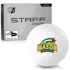 Wilson Staff Staff Model George Mason Patriots Golf Balls