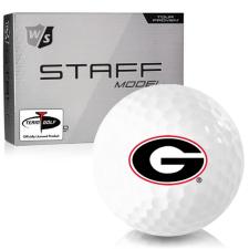 Wilson Staff Staff Model Georgia Bulldogs Golf Balls