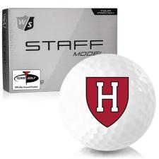 Wilson Staff Staff Model Harvard Crimson Golf Balls