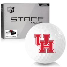 Wilson Staff Staff Model Houston Cougars Golf Balls