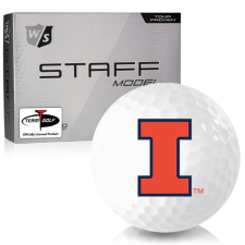 Wilson Staff Staff Model Illinois Fighting Illini Golf Balls