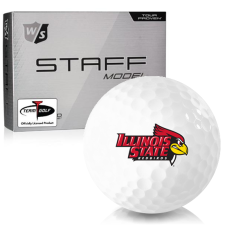 Wilson Staff Staff Model Illinois State Redbirds Golf Balls