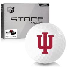 Wilson Staff Staff Model Indiana Hoosiers Golf Balls