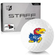 Wilson Staff Staff Model Kansas Jayhawks Golf Balls
