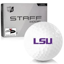 Wilson Staff Staff Model LSU Tigers Golf Balls