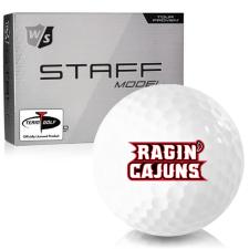 Wilson Staff Staff Model Louisiana Ragin' Cajuns Golf Balls