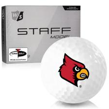 Wilson Staff Staff Model Louisville Cardinals Golf Balls