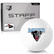 Wilson Staff Staff Model Maine Black Bears Golf Balls