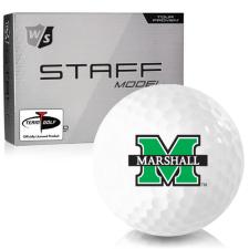 Wilson Staff Staff Model Marshall Thundering Herd Golf Balls