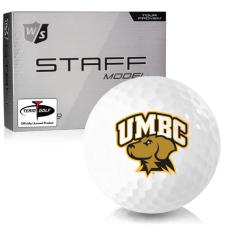 Wilson Staff Staff Model Maryland Baltimore County Retrievers Golf Balls