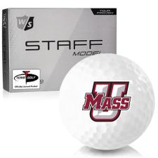 Wilson Staff Staff Model UMass Minutemen Golf Balls