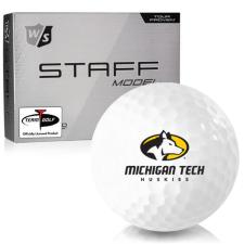Wilson Staff Staff Model Michigan Tech Huskies Golf Balls