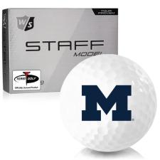 Wilson Staff Staff Model Michigan Wolverines Golf Balls