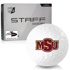 Wilson Staff Staff Model Midwestern State Mustangs Golf Balls