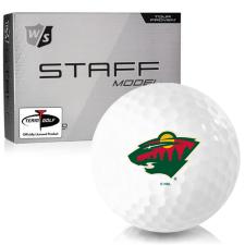 Wilson Staff Staff Model Minnesota Wild Golf Balls