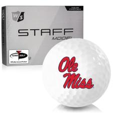 Wilson Staff Staff Model Ole Miss Rebels Golf Balls