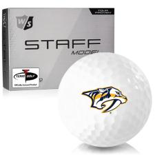 Wilson Staff Staff Model Nashville Predators Golf Balls