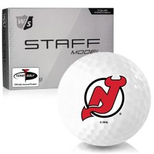 Wilson Staff Staff Model New Jersey Devils Golf Balls