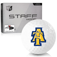 Wilson Staff Staff Model North Carolina A&T Aggies Golf Balls