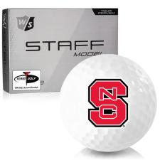 Wilson Staff Staff Model North Carolina State Wolfpack Golf Balls
