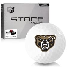 Wilson Staff Staff Model Oakland Golden Grizzlies Golf Balls