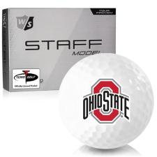 Wilson Staff Staff Model Ohio State Buckeyes Golf Balls