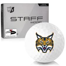 Wilson Staff Staff Model Quinnipiac Bobcats Golf Balls