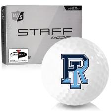 Wilson Staff Staff Model Rhode Island Rams Golf Balls